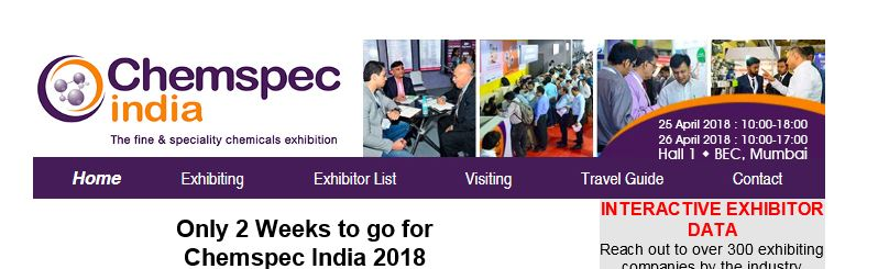 ChemSpec India 2018 – All About Drugs